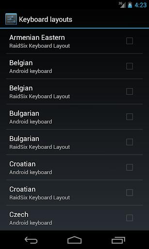 玩程式庫與試用程式App|RS - Hardware Keyboard Layouts免費|APP試玩