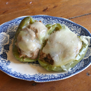 Italian Beef Stuffed Peppers