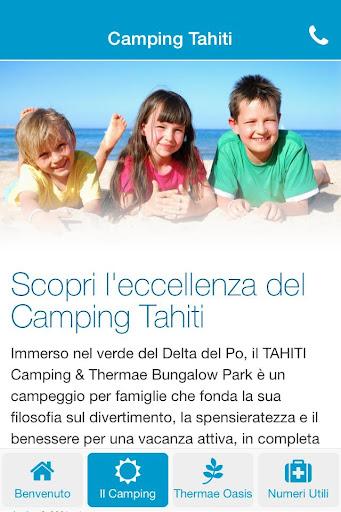 Tahiti Camping Thermae