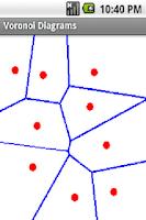 Screenshot of Voronoi Diagram