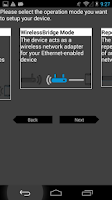 Screenshot of D-Link QRS Mobile