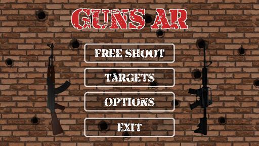【免費娛樂App】Guns AR Free-APP點子