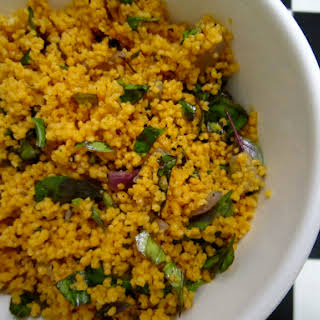 Tomato Couscous with Basil.