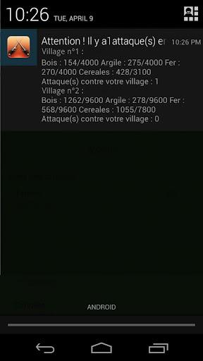 Attack Alarm - Serveur FR