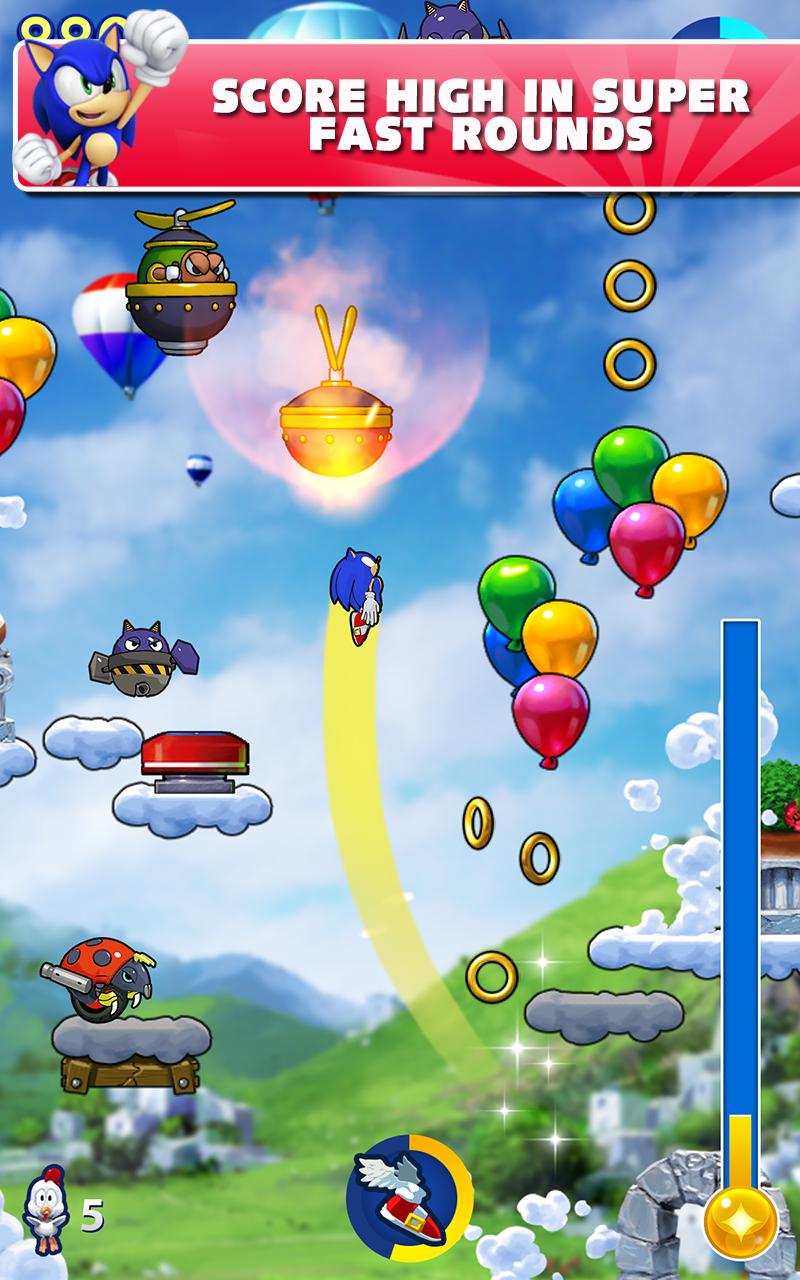 Sonic Jump Fever screenshot #6