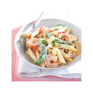 Creamy Shrimp Pasta.