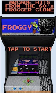 Froggy (Frogger clone) - screenshot thumbnail