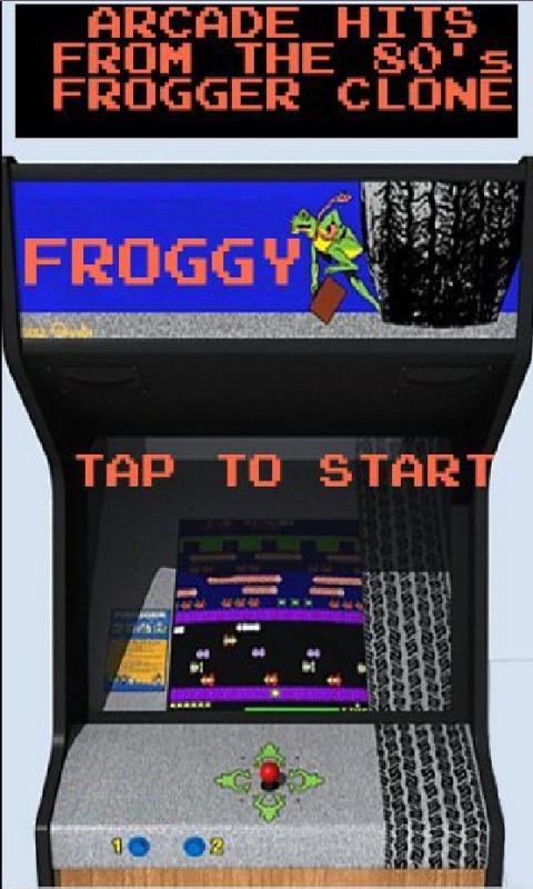 Froggy (Frogger clone) - screenshot