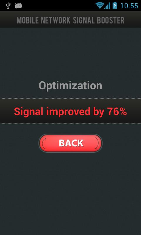 Mobile Network Signal Booster - screenshot