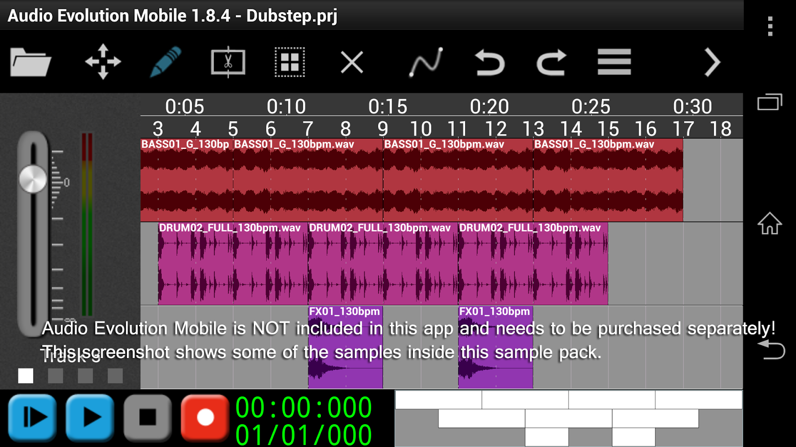 Monster Dubstep for AEMobile- screenshot