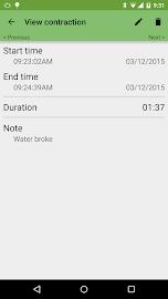 Contraction Timer Screenshot 4