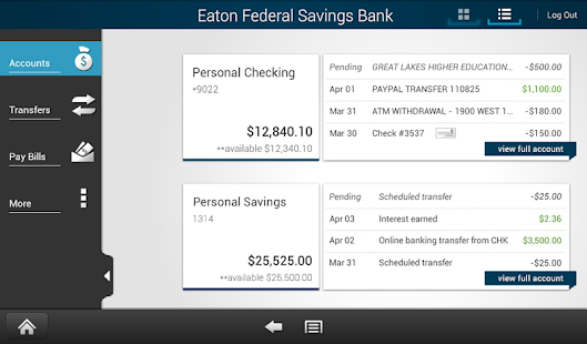 Eaton Federal Mobile- screenshot thumbnail