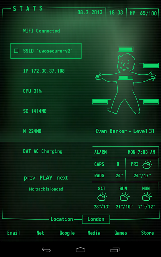 Phantom Music Control - screenshot