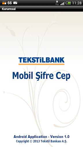 Tekstilbank Mobil Şifre Kurum