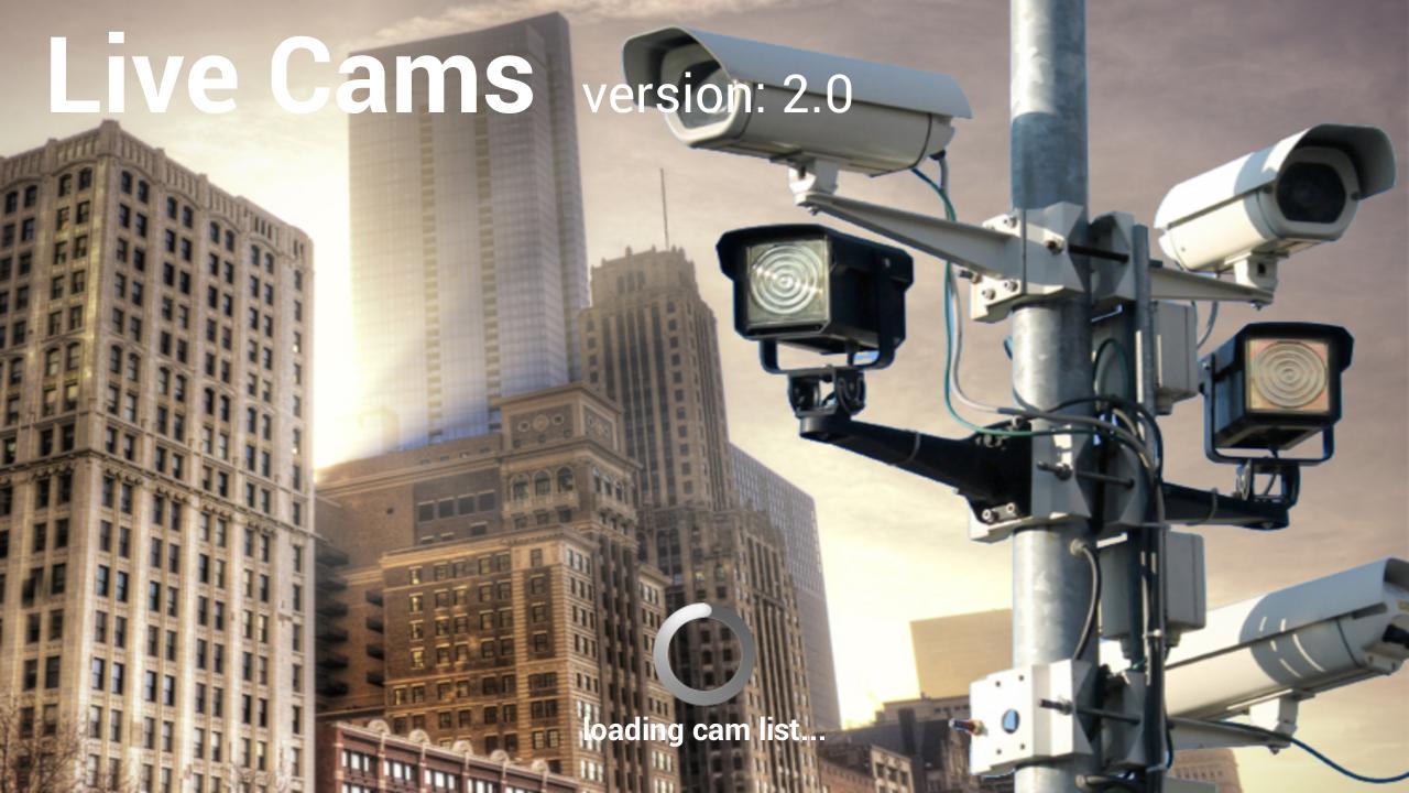 Live Cams - screenshot