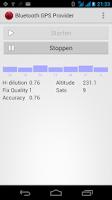 Screenshot of Bluetooth GPS Provider