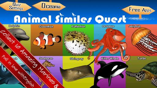 Animal Similes Quiz Quest