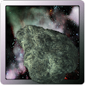 Asteroid Apophis vs Galaxy LWP icon