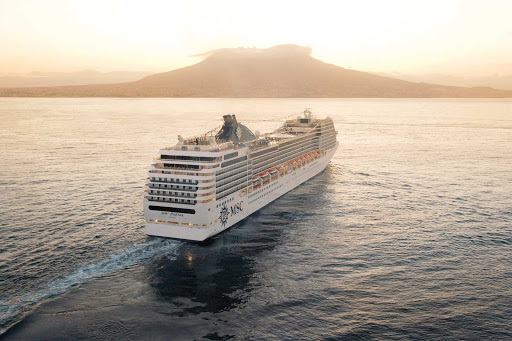 MSC-Poesia-2 - MSC Poesia brings elegance and luxury to Mediterranean cruising.