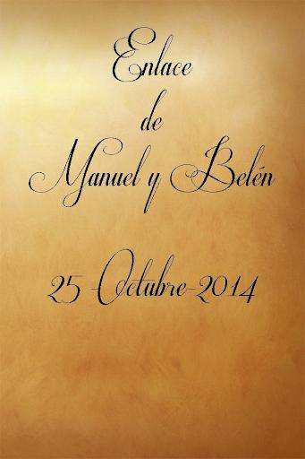 BODA MANUEL Y BELÉN