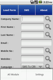 Bonrix Calls To Sugar CRM- screenshot thumbnail