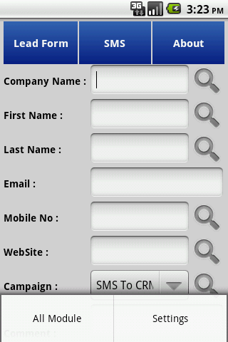 Bonrix Calls To Sugar CRM- screenshot