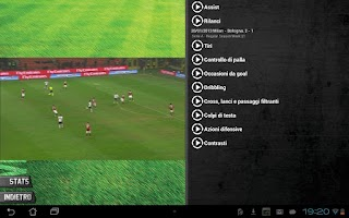 Screenshot of TouchPlayers A.C.Milan Edition