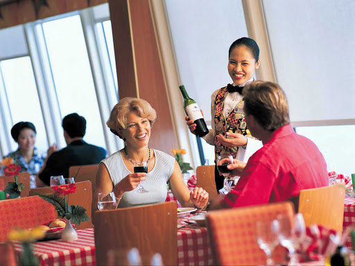 Norwegian-Cruise-Line-La-Trattoria -  Enjoy pasta, pizza and other traditional fare in La Trattoria, a casual Italian eatery aboard Norwegian Spirit. It seats 72 and the cost is $15 per guest.