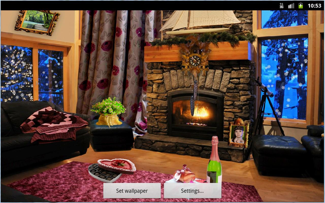 romantic fireplace live wallpaper android apps on google play