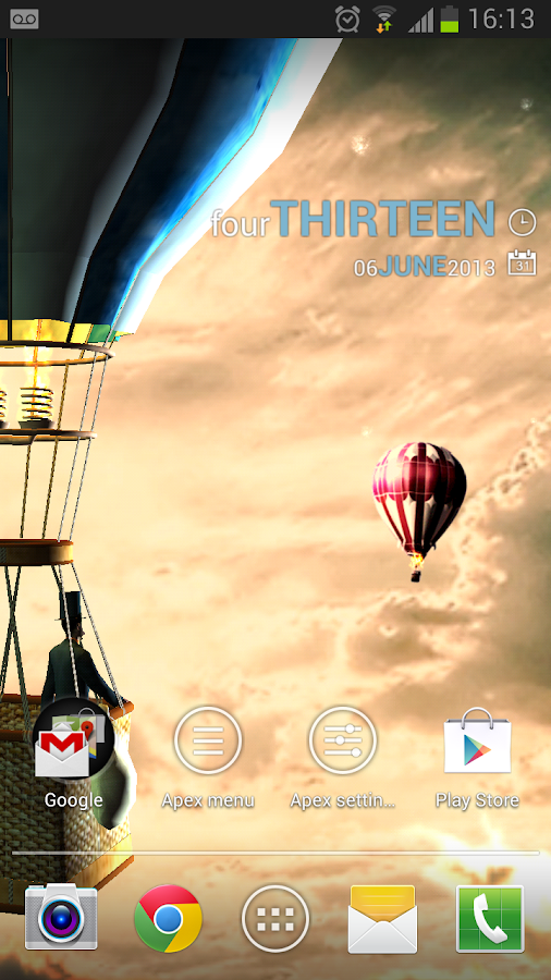 Hot air balloon 3d wallpaper android apps on google play for 3d home wallpaper for android