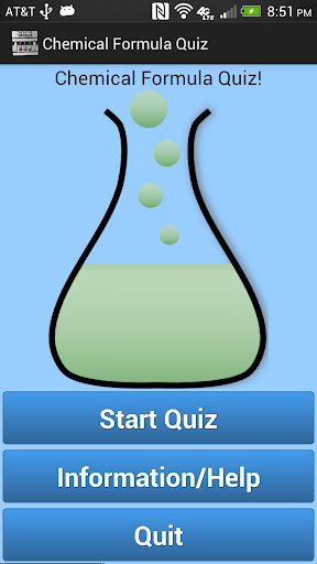 Chemical Formula Quiz