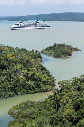 Celebrity_Infinity_Panama_Canal_2 - The Panama Canal is one of the great experiences to be had during a cruise on Celebrity Infinity.