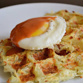 Waffle Hash Browns.