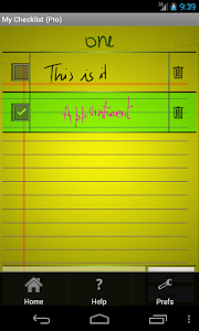 My Checklist Pro screenshot 2