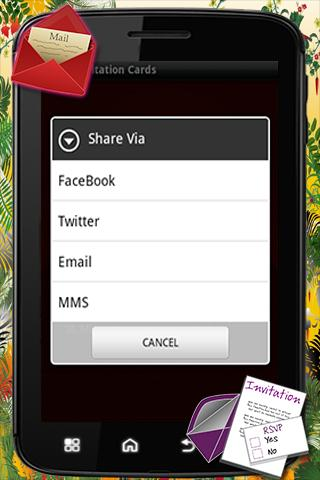 Party Invitation Card - screenshot