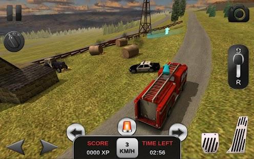 Firefighter Simulator 3D- screenshot