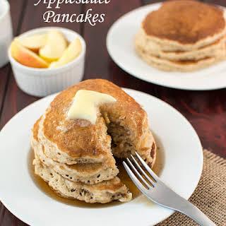Applesauce Pancakes.