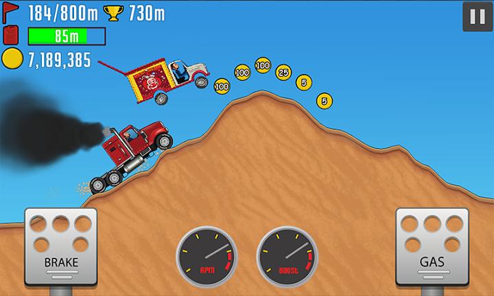 Hill Racing PvP Android App Screenshot