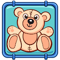 Toy Teddy Bear Falling icon