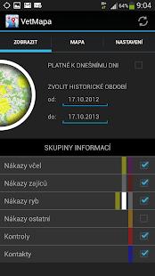 Veterinární mapa - screenshot thumbnail