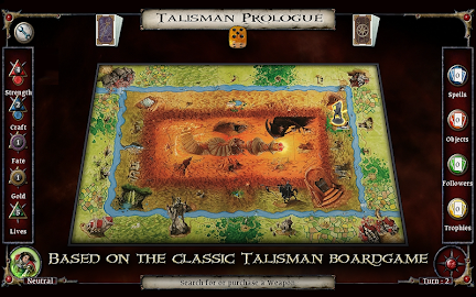 Talisman Prologue Screenshot 1