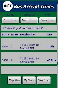 AC Transit Bus Tracker Pro- screenshot thumbnail
