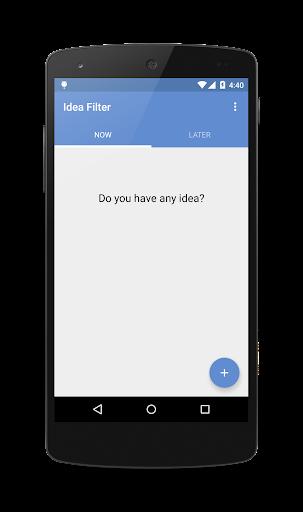 Idea Filter