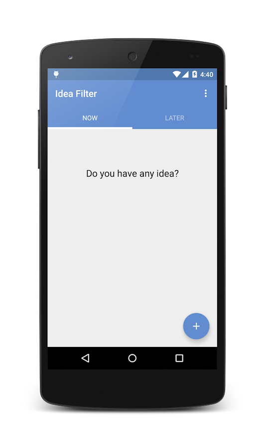 Idea Filter- screenshot