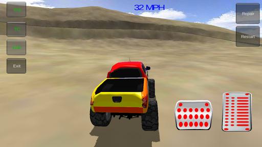 玩免費賽車遊戲APP|下載怪物卡车特技3D app不用錢|硬是要APP