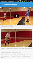 Screenshot of Volleyball Training