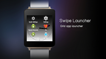 Screenshot of Swipify - Wear Launcher