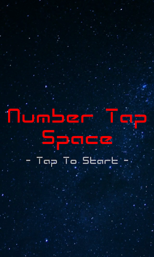 Number Tap Space