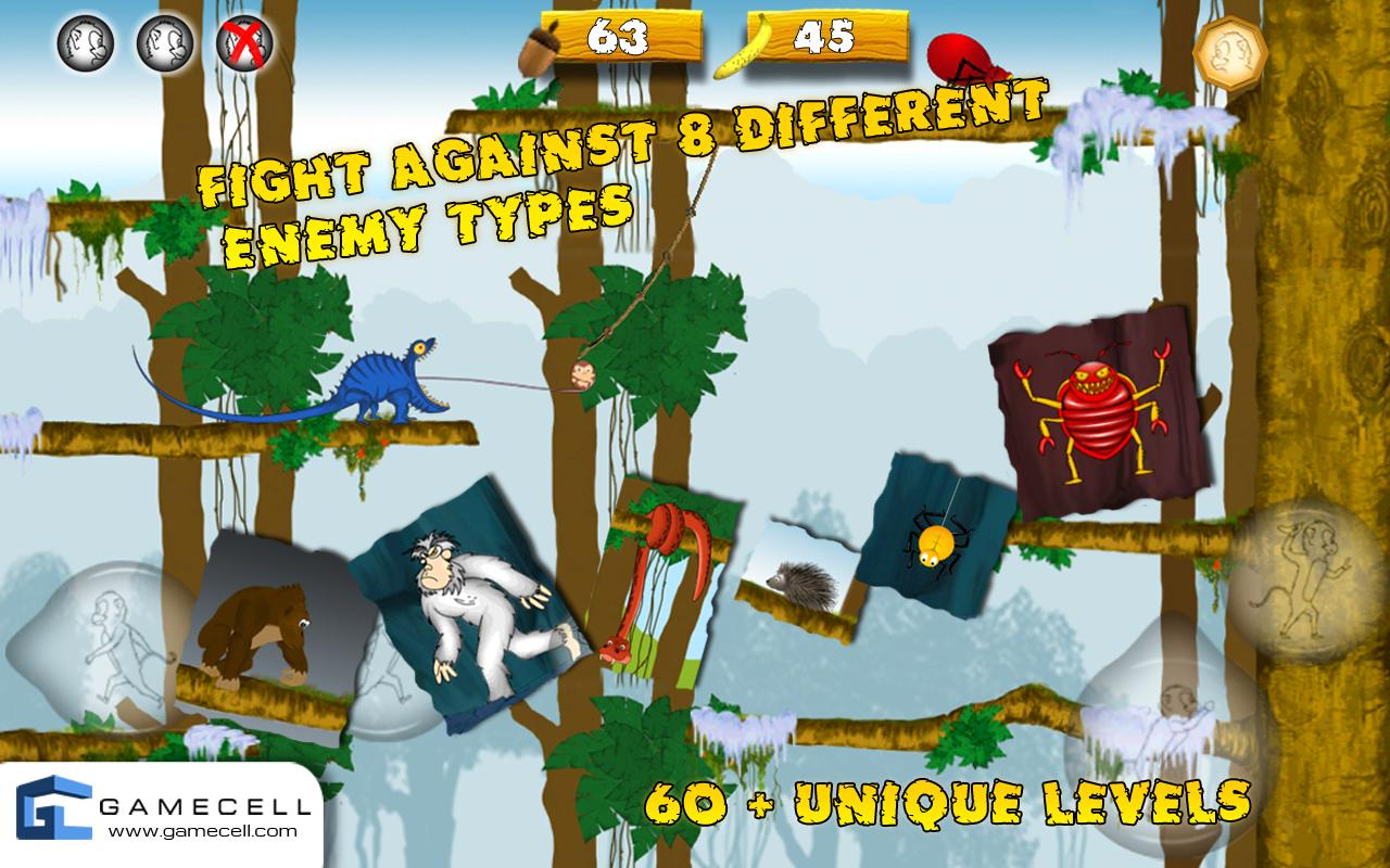 Pocket Monkey - Full Version - screenshot