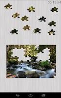 Screenshot of Nature Jigsaw Puzzles